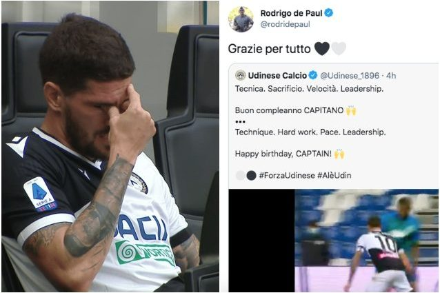 de paul udinese calciomercato 638x425 - Le parole di De Paul che suonano come un addio all'Udinese