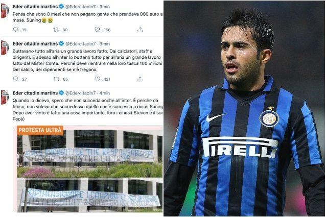 "eder inter tweet suning 638x425 - Eder smaschera Suning: ""Se ne fregano del calcio, non pagavano stipendi da 800 euro"""