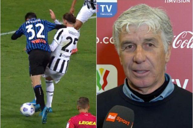 """gasperini coppa italia juve 638x425 - Gasperini deluso: """"C'era rigore per noi, ma ero più arrabbiato dopo la finale con la Lazio"""""""