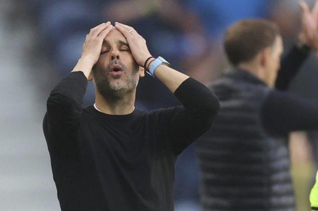 guardiola city 1622321939346 638x425 - Sterling dall'inizio e l'assenza di un mediano: gli errori che costano la Champions a Guardiola