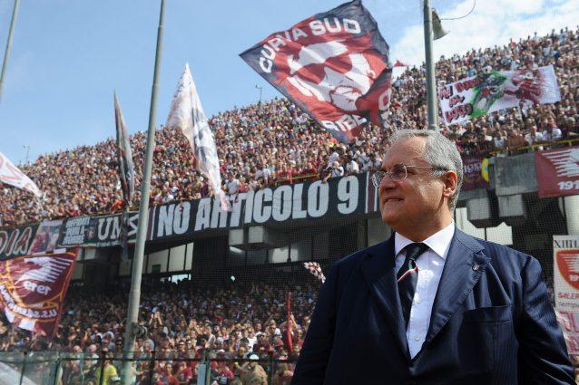 lotito salerno 638x425 - Salernitana in Serie A con una nuova società: la cessione del club in via di definizione