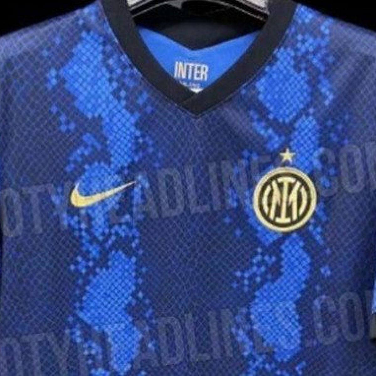 La possibile nuova maglia dell'Inter: senza il nero e con la trama ...
