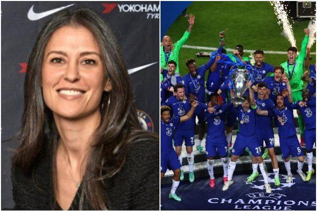 """marina granovskaia chelsea 1 638x425 - Marina Granovskaia è il segreto del Chelsea: """"La donna più potente del calcio"""""""