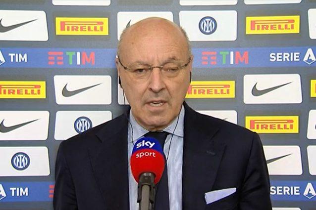 """marotta inter 638x425 - Marotta alza la voce: """"Si enfatizzano i problemi dell'Inter ma il momento è difficile per tutti"""""""