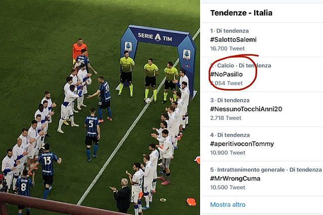 nopasillo combo - I tifosi della Juve lanciano #NoPasillo contro la passerella per l'Inter campione