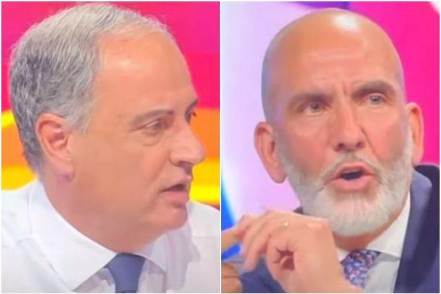 """piccinini di canio 638x425 - Lite Piccinini-Di Canio in TV: """"Certe cose non le capisci, tu punti ai like"""""""