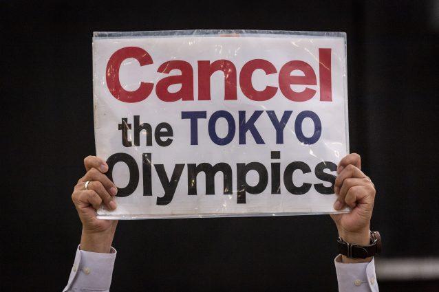 proteste tokyo 2020 638x425 - Olimpiadi di Tokyo, 8 giapponesi su 10 vogliono la cancellazione dell'evento