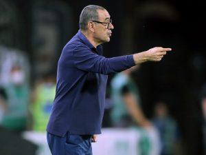 sarri penale juve 300x225 - Per Maurizio Sarri manca solo l'ufficialità e si studia già il nuovo 4-3-3 della Lazio