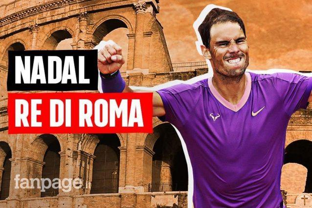 thumbnadal 1621187436655 638x425 - Rafa Nadal è il re di Roma: Djokovic battuto nella finale degli Internazionali d'Italia