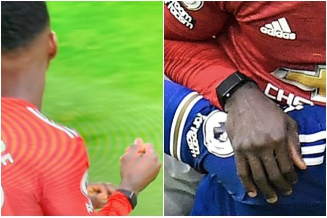 tuanzebe orologio 638x425 - Che cosa ha sul braccio il difensore del Manchester United, Tuanzebe