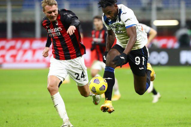 zapata atalanta 638x425 - Calcio in TV, ultima giornata Serie A oggi e stasera: Bologna-Juve dove vederla, Atalanta-Milan su Sky