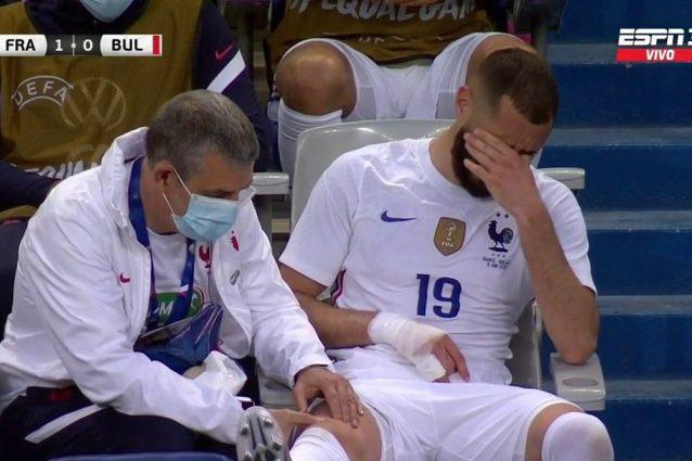 9d5895d2 a41a 4e43 b8ea db523044f458 638x425 - Maledizione su Benzema, si fa male nel secondo match dal ritorno in Nazionale: Europei a rischio