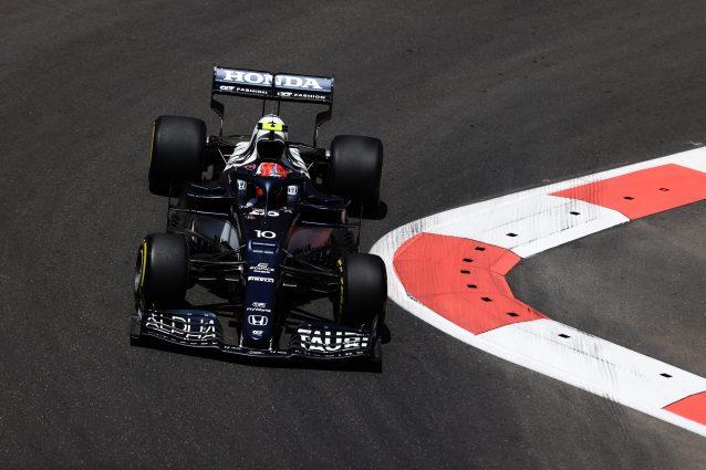 GettyImages 1321682366 638x425 - F1, GP Baku: di Gasly il miglior tempo nelle FP3, 4° Leclerc. Verstappen a muro
