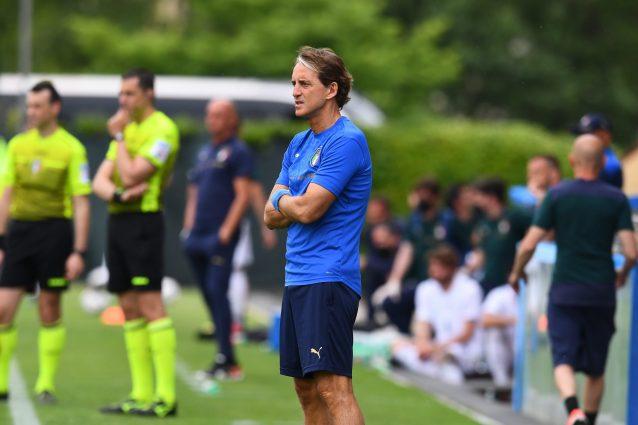 GettyImages 1321897329 1622892244281 638x425 - L'Italia di Mancini battuta in amichevole dall'Under 20, decide un gol di Cangiano