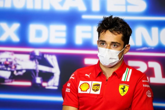 """GettyImages 1324043318 638x425 - Leclerc verso il GP di Francia con il freno a mano tirato: """"A Le Castellet torneremo alla realtà"""""""