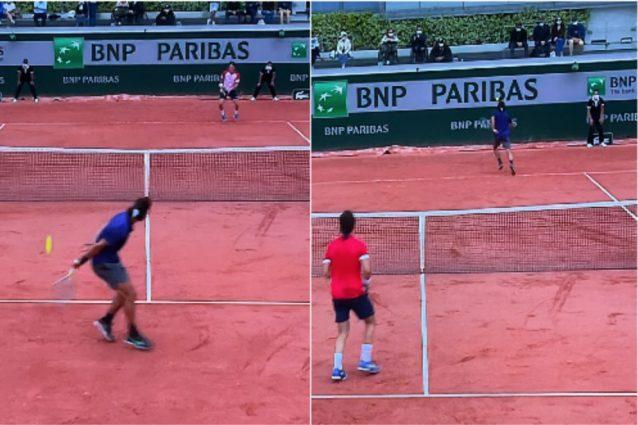 Schermata 2021 06 05 alle 13.00.03 638x425 - Le magie di Lorenzo Musetti: contro Cecchinato i due punti più belli del Roland Garros