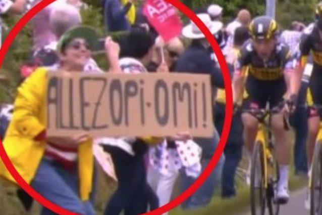 Schermata 2021 06 30 alle 15.58.30 638x425 - Arrestata la spettatrice che ha causato la maxi-caduta al Tour de France: era sparita da 4 giorni