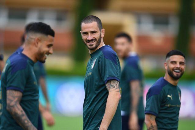 """bonucci nazionale europei turchia 638x425 - Nazionale verso gli Europei 2021, Bonucci: """"L'Italia ha un fuoriclasse"""". Ma non è un bomber"""