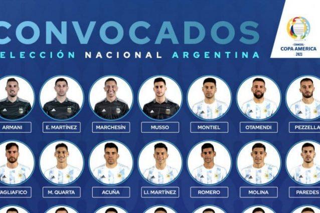 seleccion argentina lista copa america 862x485 638x425 - Dybala fuori dai convocati dell'Argentina per la Copa América 2021: c'è Correa della Lazio