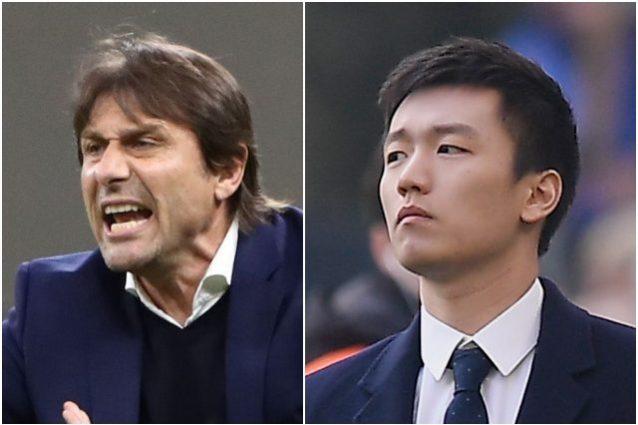 """zhang conte 638x425 - Zhang e l'addio di Conte all'Inter: """"Devo pensare alla solidità del club, serve ampia plusvalenza"""""""