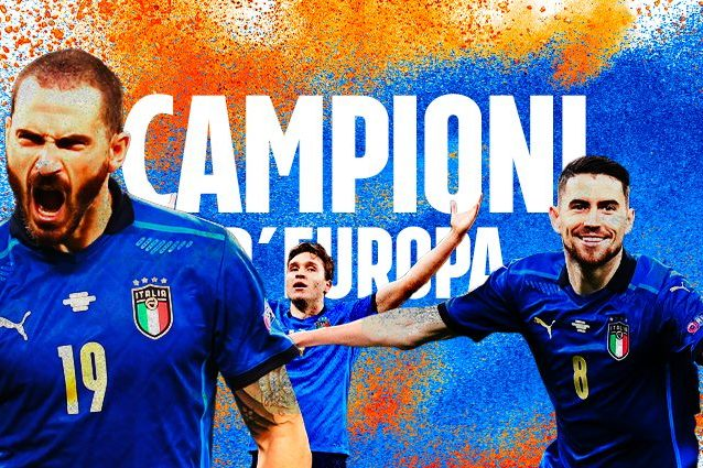 CAMPIONI EUROPA ARTICOLO 638x425 - Italia campione d'Europa! Trionfo azzurro a Wembley, Inghilterra battuta ai rigori