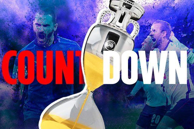 COUNTDOWN ARTICOLO 638x425 - La prima volta di Mancini agli Europei: scelta di formazione 'inedita' contro l'Inghilterra