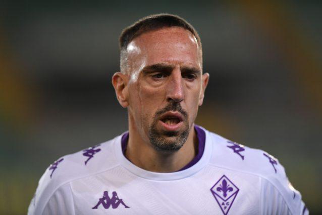 """GettyImages 1313554109 638x425 - L'addio amaro di Ribery alla Fiorentina: """"Una mancanza di rispetto"""""""