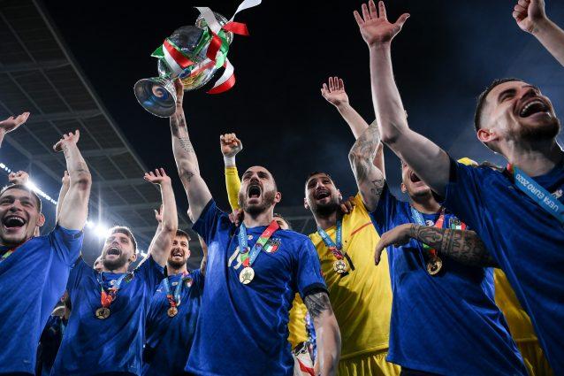 """GettyImages 1328231441 638x425 - Maldini condanna l'Inghilterra: """"Il catenaccio l'hanno fatto loro, non l'Italia di Mancini"""""""