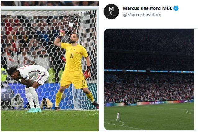 """Marcus Rashford Inghilterra Italia Europei finale lettera razzismo scuse rigore sbagliato - Rashford risponde agli insulti razzisti: """"Non mi scuserò mai per chi sono e da dove vengo"""""""
