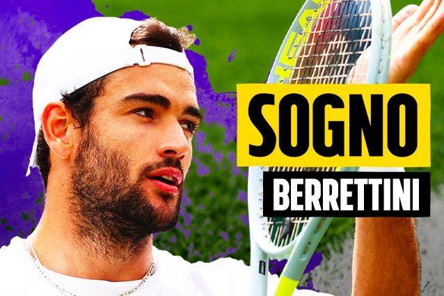 SOGNO BERRETTINI ARTICOLO 638x425 - Berrettini nella storia, è in finale a Wimbledon! Battuto Hurkacz in quattro set
