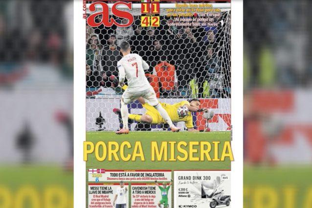 """Schermata 2021 07 07 alle 10.37.22 638x425 - All'estero bocciano l'Italia: """"Catenaccio"""", """"Spagna la squadra migliore"""""""