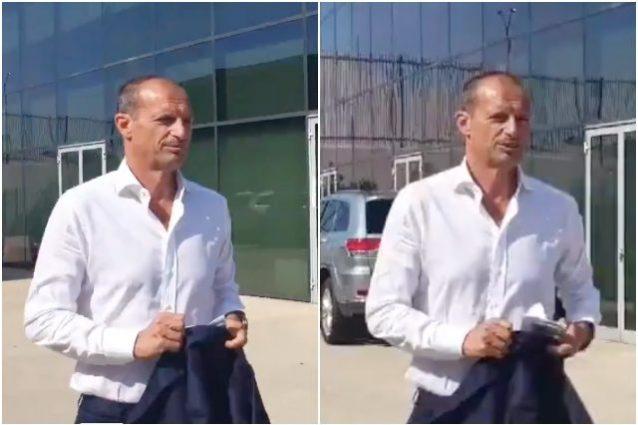 """allegri 638x425 - La Juve riparte tra i cori per Allegri: """"Mister portaci la Champions"""""""