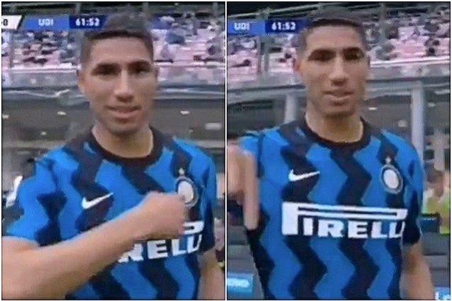 """hakimi resto inter 1 638x425 - Cosa è andato storto tra Hakimi e l'Inter dopo quel gesto inequivocabile: """"Io resto"""""""