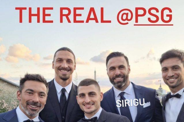 """ibra verratti matrimonio psg 1626381078441 638x425 - """"Il vero PSG"""": Ibrahimovic punge il suo ex club al matrimonio di Verratti"""