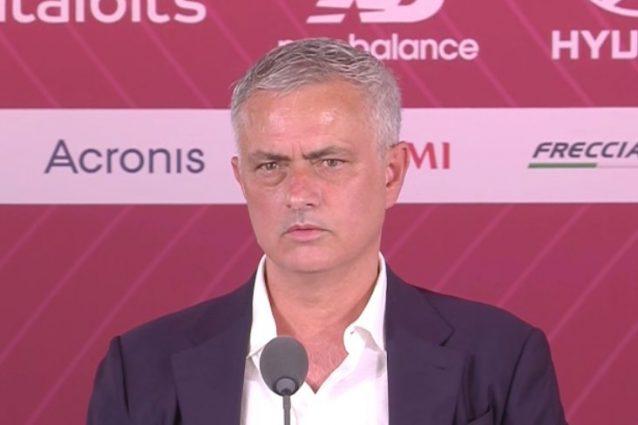 """image 2021 07 08T12 13 49 676Z 638x425 - Mourinho si presenta alla Roma e punge l'Inter: """"Facile vincere e non pagare gli stipendi"""""""