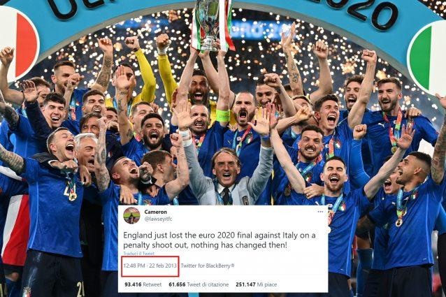 """italia 638x425 - """"L'Inghilterra ha appena perso Euro 2020 ai rigori contro l'Italia"""": ma lo ha scritto nel 2013"""