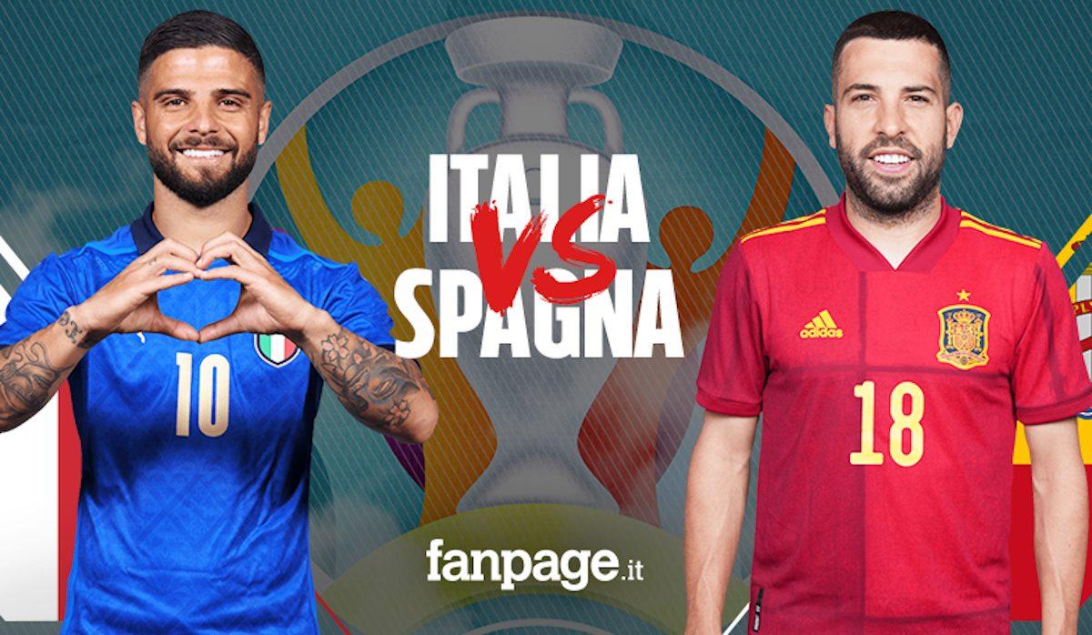 Semifinali Europei 7 luglio, Italia-Spagna: orario TV e dove ...