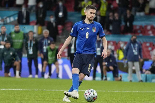 jorginho rigoristi italia inghilterra 638x425 - I rigoristi dell'Italia contro l'Inghilterra nella finale degli Europei: chi tirerà i rigori