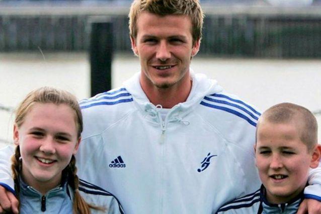 kane beckham 638x425 - La foto del giovane Kane con Beckham fa sognare l'Inghilterra in vista delle semifinali di Euro 2020