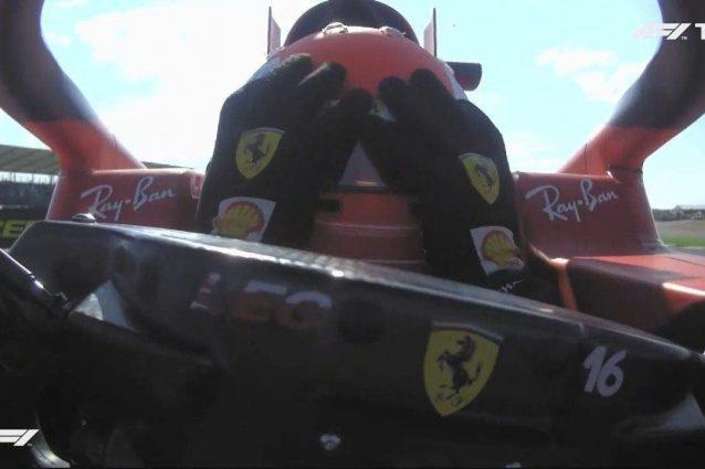"""leclerc parolacce silverstone 638x425 - Urla e parolacce, lo sfogo di Leclerc nel team radio a Silverstone: """"Mamma mia!"""""""