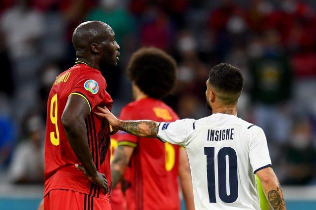 """lukaku insigne belgio italia 638x425 - Il dramma sportivo del Belgio eliminato dall'Italia: """"Era la nostra ultima occasione"""""""