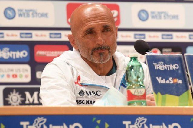 """spalletti napoli conferenza dimaro 01 638x425 - Napoli, messaggio di Spalletti a De Laurentiis: """"Per la Champions servono giocatori forti"""""""