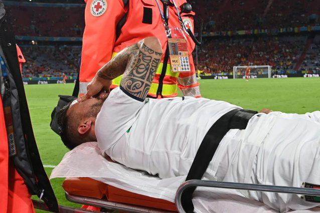 spinazzola infortunio tendine achille 638x425 - Confermata la terribile diagnosi: per Spinazzola rottura del tendine d'Achille