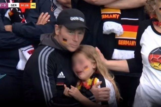 """tifosa tedesca 638x425 - La bambina tedesca derisa sui social rifiuta migliaia di euro di risarcimento: """"Dateli a loro"""""""