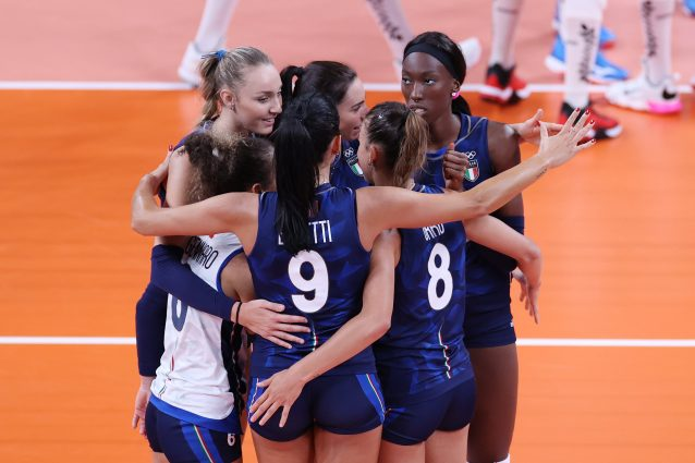 GettyImages 1331191854 638x425 - Italvolley femminile a punteggio pieno agli Europei: Slovacchia battuta 3-1