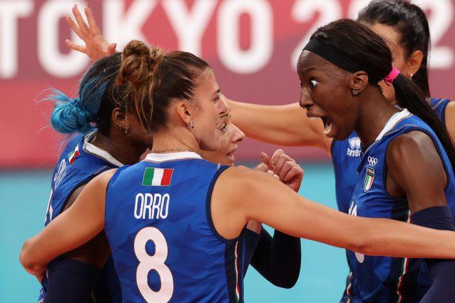 GettyImages 1331875187 638x425 - L'Italvolley femminile sa solo vincere agli Europei: dominio sulla Croazia battuta 0-3