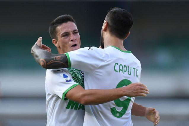 GettyImages 1335443199 638x425 - Gol e spettacolo, il Sassuolo batte il Verona nel segno di Raspadori