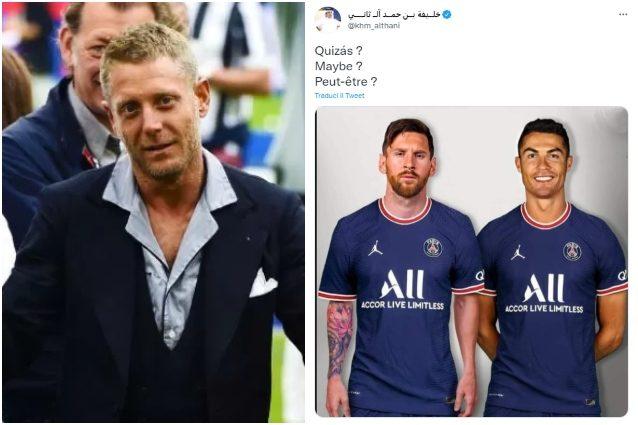 "LApo Elkann risposta fratello Al Thani Cristiano Ronaldo PSG Juve Tweet irrispettoso - Ronaldo al PSG con Messi, Lapo Elkann risponde al fratello di Al Thani: ""Irrispettoso"""
