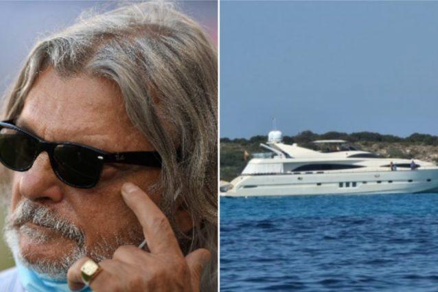 Schermata 2021 08 24 alle 22.16.28 638x425 - Massimo Ferrero pizzicato con lo yacht in acque protette: multa salata