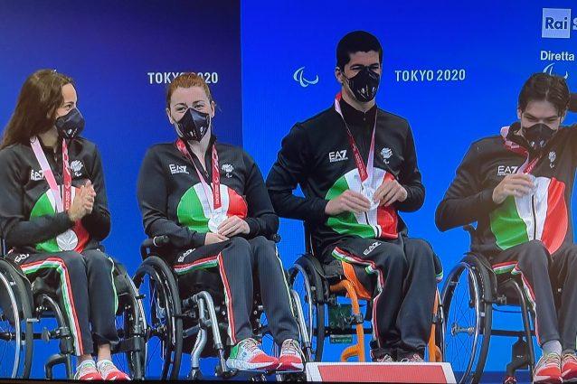 Schermata 2021 08 26 alle 13.30.06 638x425 - L'Italia domina nel medagliere del nuoto alle Paralimpiadi: staffetta 4×50 mista d'argento